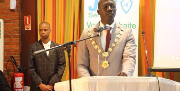 Jeune Chambre Internationale / Sénégal : Discours d'investiture du Président Samuel Faye, un plaidoyer pour une citoyenneté active