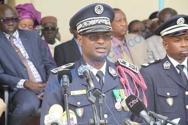 SÉCURITÉ/RÉFÉRENDUM : Le chef de la Police fait le tour des centres de vote