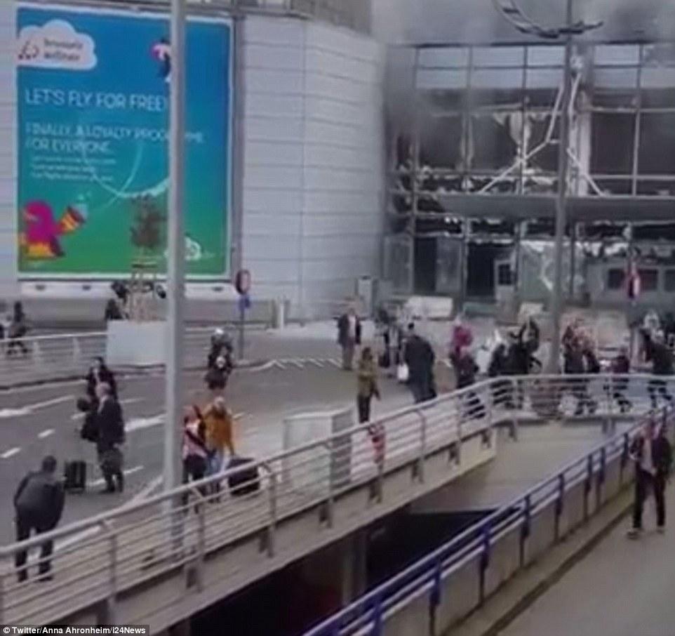 Aéroport de Bruxelles - Bilan provisoire : il y aurait 11 morts et une vingtaine de blessés
