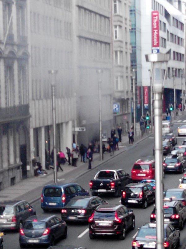 Nouvelle explosion dans le métro bruxellois