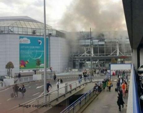 Explosions à Bruxelles : Au moins 13 morts pour le moment