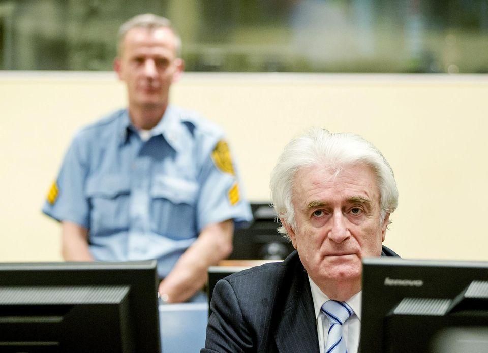 Radovan Karadzic coupable de génocide, condamné à quarante ans de prison
