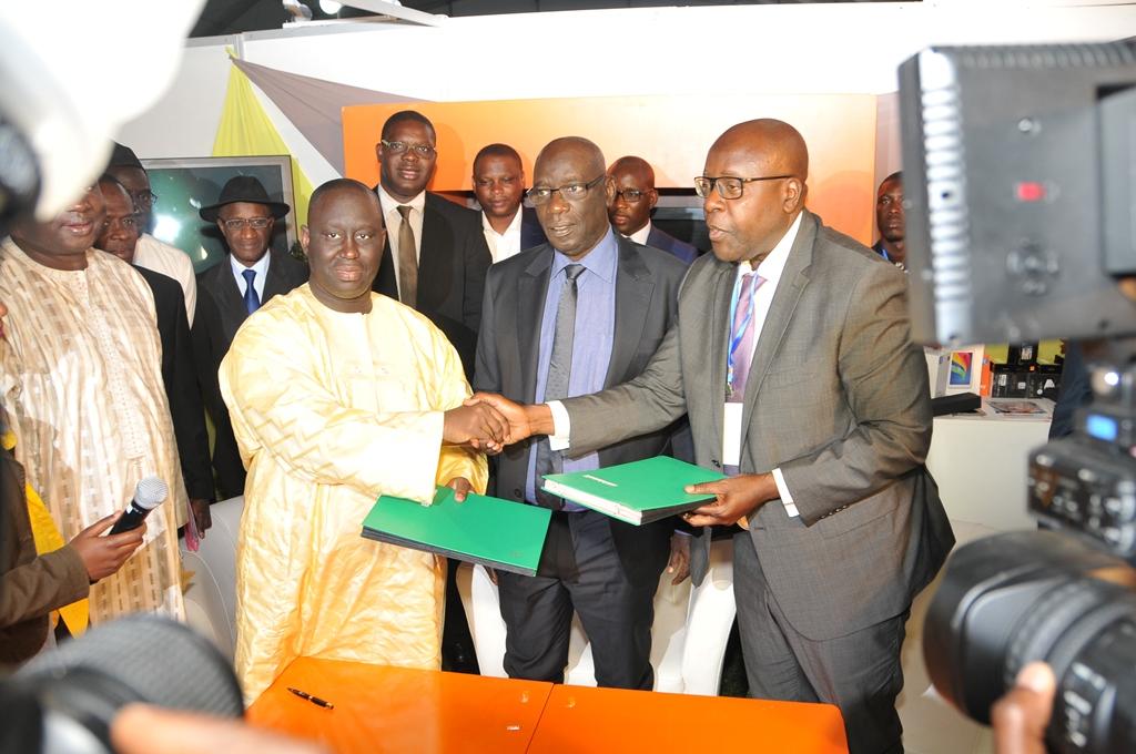 L'AMS et Sonatel signent une convention de partenariat