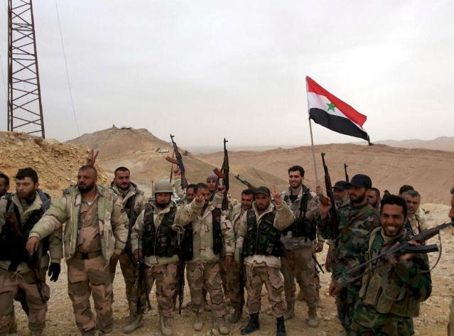"""Syrie : l'armée annonce la reprise totale de Palmyre, 'une victoire stratégique, symbolique et surtout médiatique"""""""
