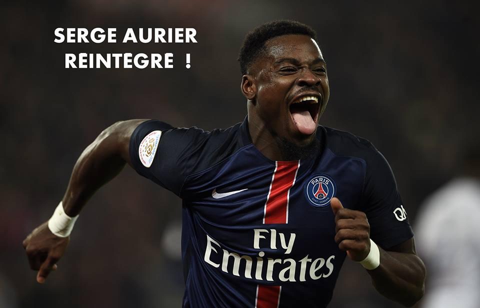 Serge Aurier : le PSG officialise sa réintégration dans le groupe professionnel