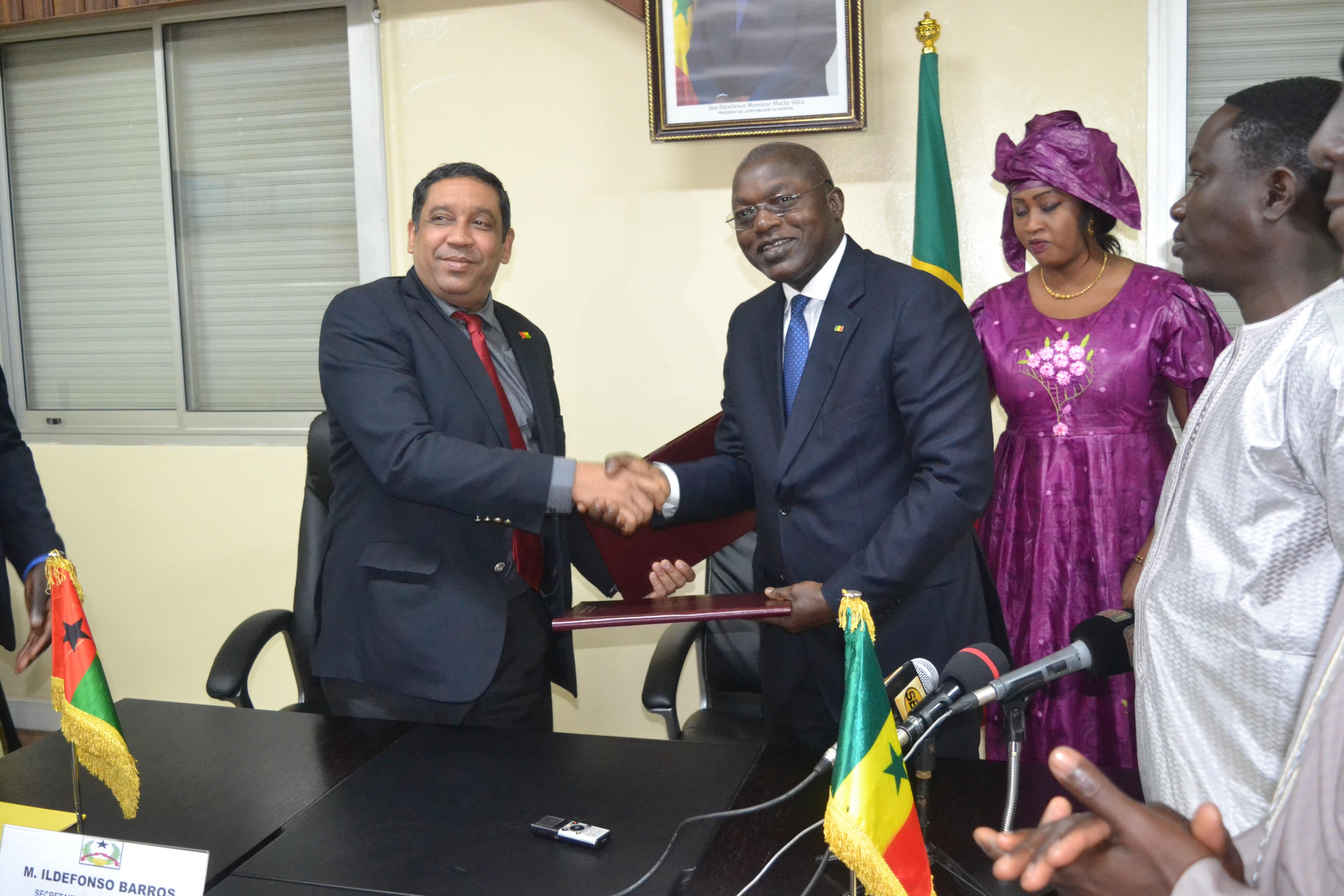 COOPÉRATION SÉNÉGAL-GUINÉE BISSAU : Un nouveau protocole signé