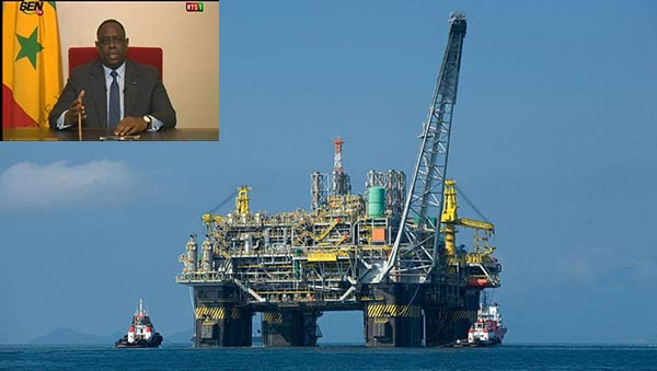Des dispoitions prises pour une exploitation transparente des gisements de pétrole et de gaz découverts, assure Macky Sall