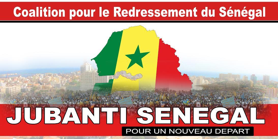 MANIFESTE DE «JUBANTI SENEGAL»