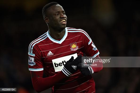 West Ham : carton rouge retiré pour Cheikhou Kouyaté