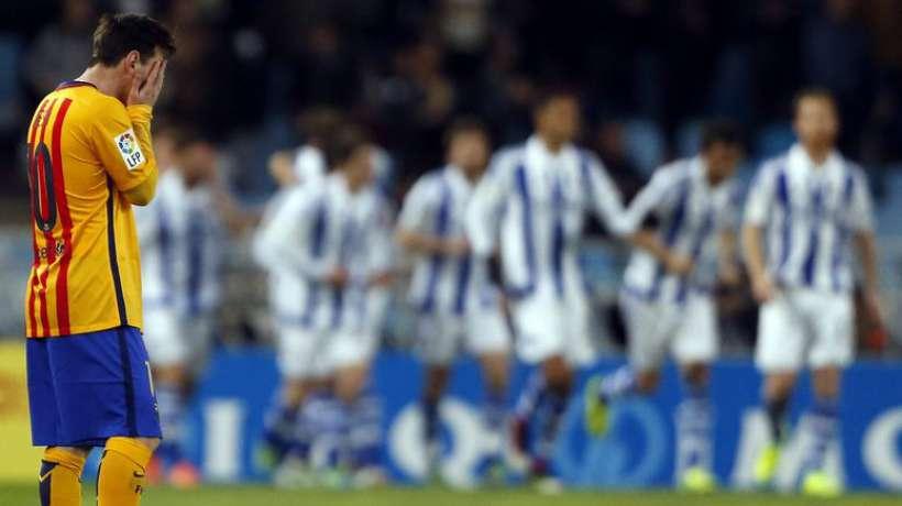La Real Sociedad crucifie le Barça et relance la Liga !