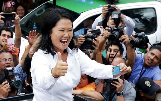 Présidentielle au Pérou : Keiko, fille d'Alberto Fujimori largement en tête au premier tour