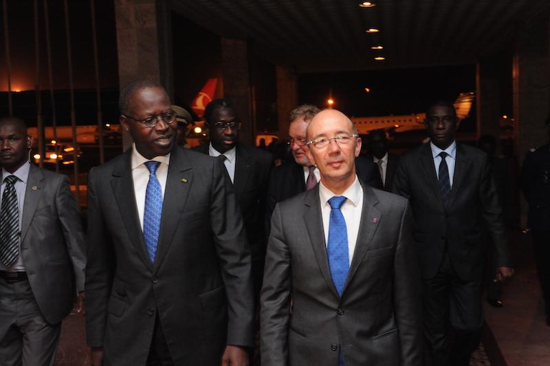 Visite de travail : Le Président de la Wallonie Bruxelles est à Dakar