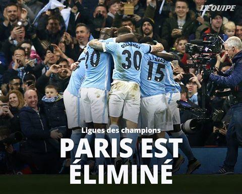 Ligue des Champions : Le Paris Saint-Germain s'est donc de nouveau arrêté en quart de finale