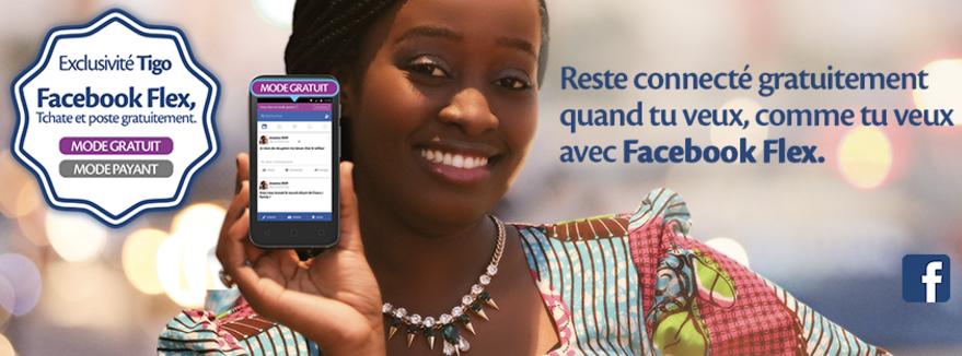 Tigo lance Facebook Flex pour donner plus de Flexibilité aux clients