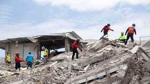 Le bilan du séisme en Equateur passe à 525 morts
