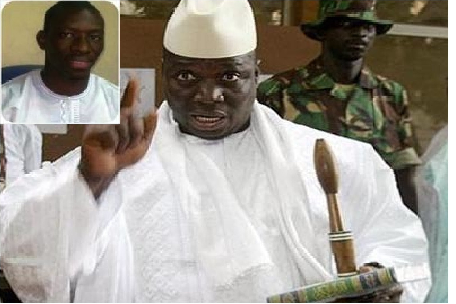 Après s'être échappé de l'hôpital de Banjul où il était soigné : Le journaliste gambien Alagie Ceesay a trouvé refuge au Sénégal