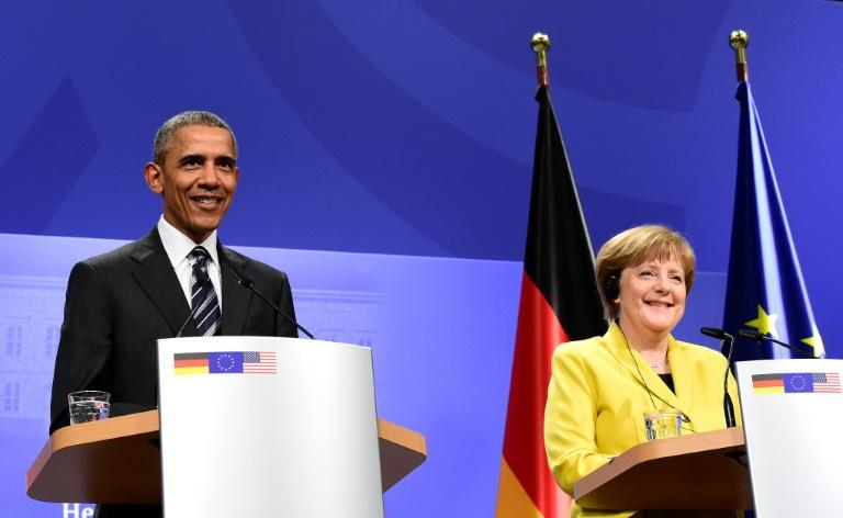 Barack Obama appelle de ses vœux une « Europe forte et unie »