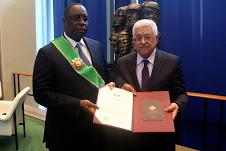 PARIS : Macky Sall décoré de la Grande Croix de l'Ordre de l'Etat de Palestine