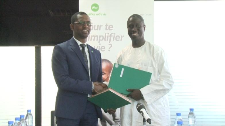 Signature de contrat : Le Groupe Wari accompagne GAINDE 2000 dans la mise en place et l'intégration des solutions de paiement