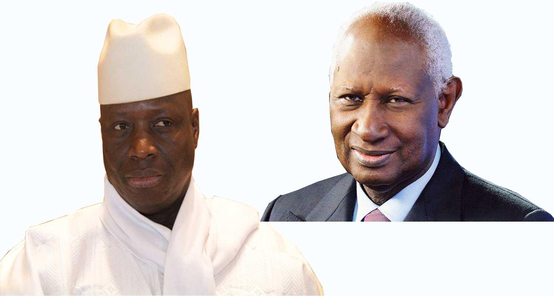 """Yaya Jammeh : """" Quand Abdou Diouf venait en Gambie, on lui confectionnait un lit à sa taille parce qu'il est trop grand..."""""""