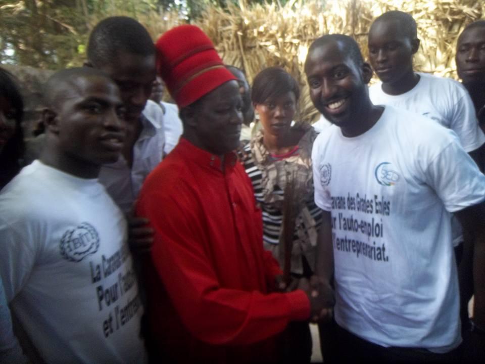 Casamance : La Convergence des Etudiants et Jeunes Diplômés du Sénégal en caravane pour la paix dans le Sud