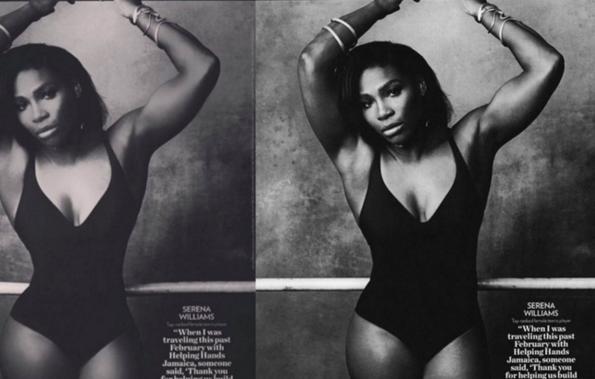 Serena Williams s'attire les foudres de ses fans en postant une photo retouchée