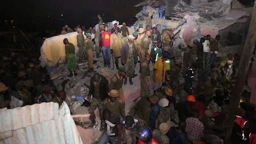 Un immeuble s'effondre au Kenya, au moins 14 morts
