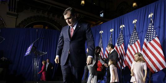 Primaires américaines : Le républicain Ted Cruz annonce la fin de sa campagne