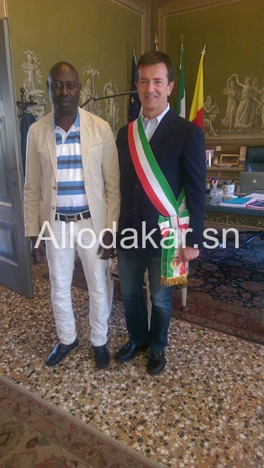 Le maire de Bergamo prêt pour la coopération avec une commune du Sénégal