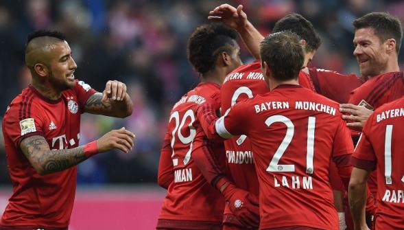 Allemagne: Le Bayern champion pour la 4e fois d'affilée