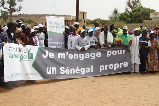 Clôture de la semaine «ãnd defar sunu gox» à Popenguine dans la lutte contre l'insalubrité et l'amélioration de son cadre de vie