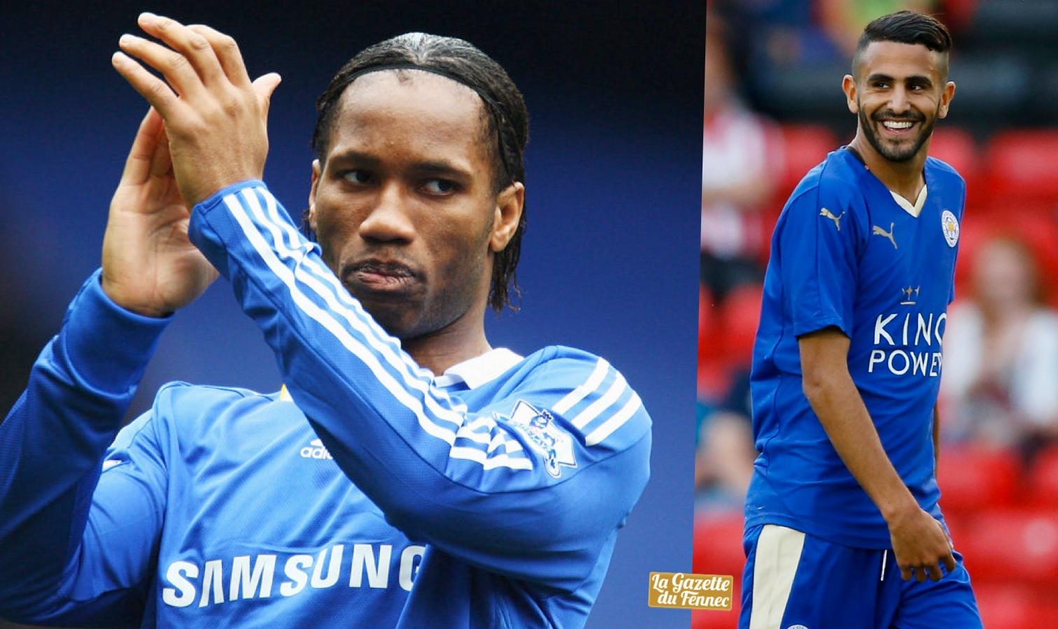 Premier League : Drogba félicite son « frère » Mahrez