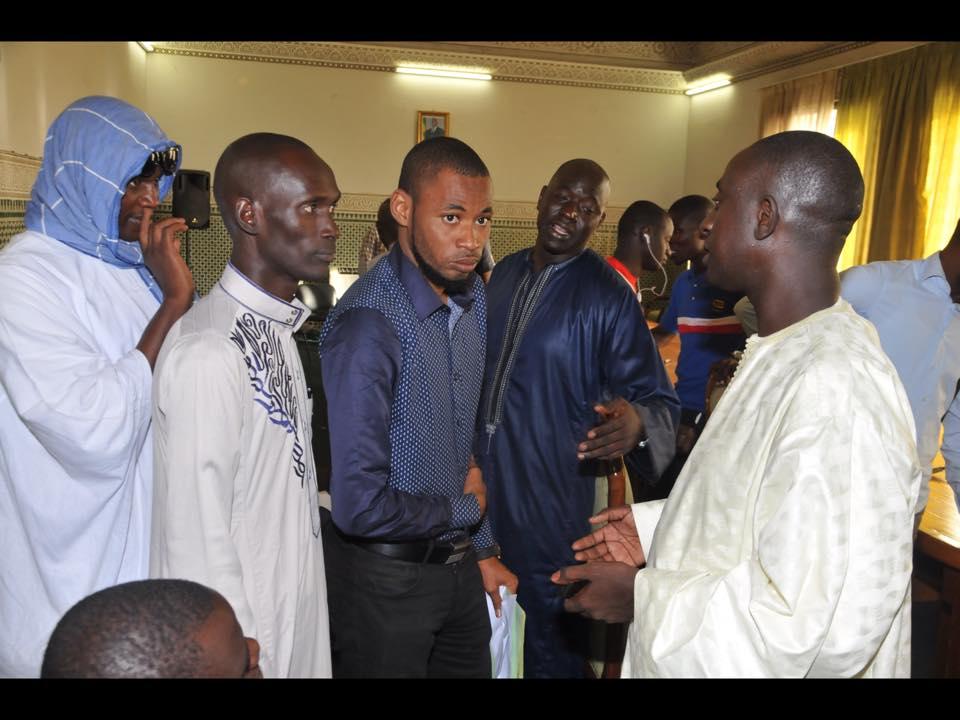 Conférence de presse A.I.S : Discours du président Serigne Mame Cheikh M'backé Khadim Awa Ba