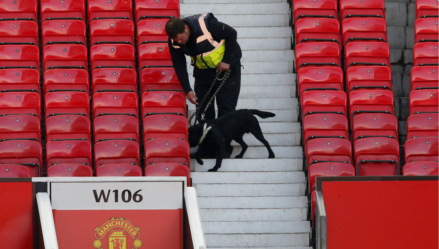 Explosion à Old Trafford