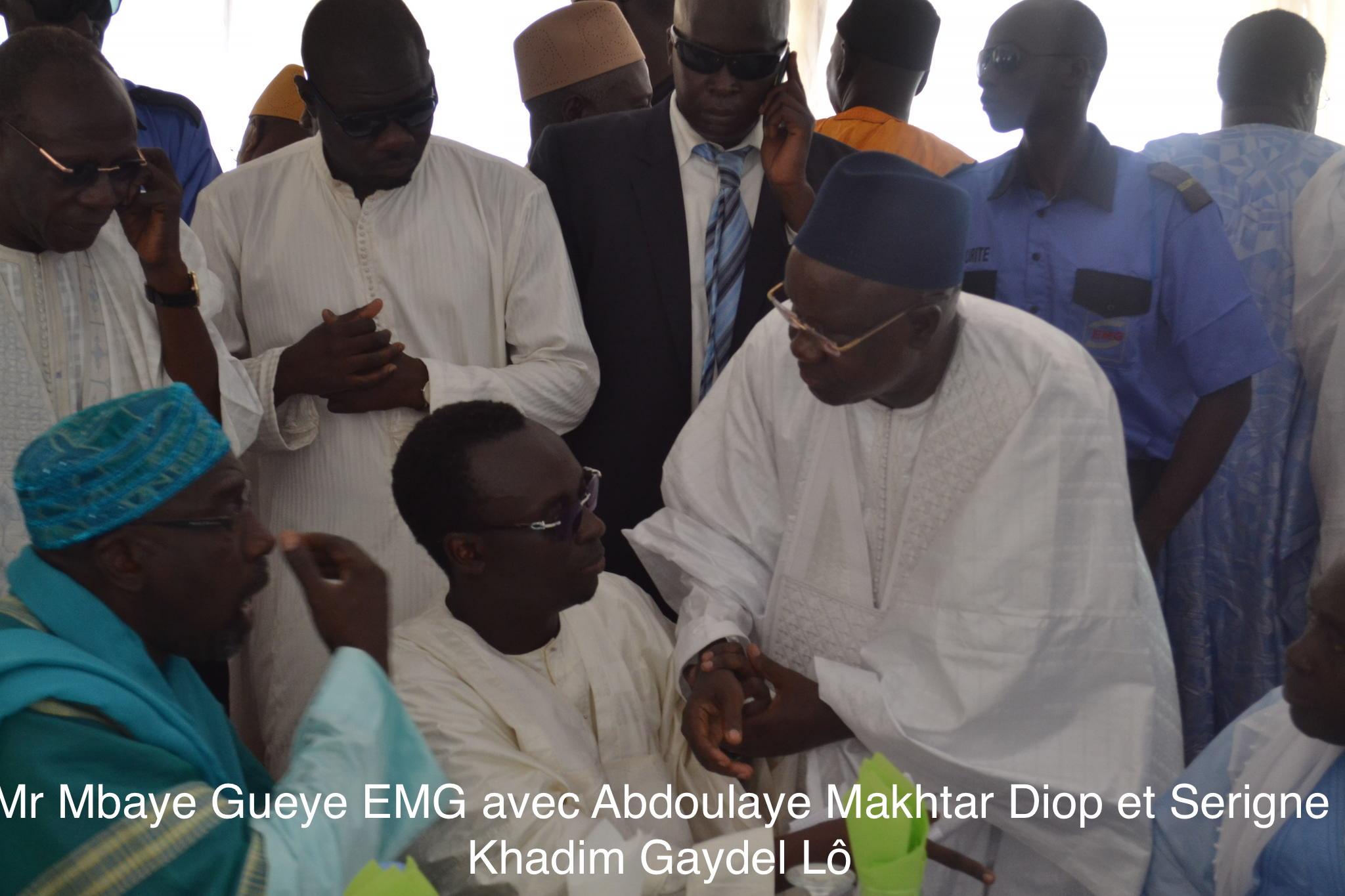 Les images de la cérémonie officielle de l'ouverture de la mosquée de Médina Fall construite par Mbaye Gueye EMG à Thiès