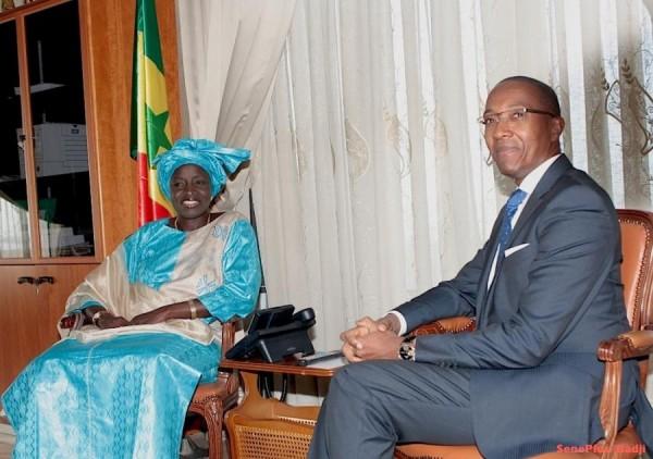 Réaction de Madame Aminata Touré à la création de parti de Monsieur Abdoul M'baye