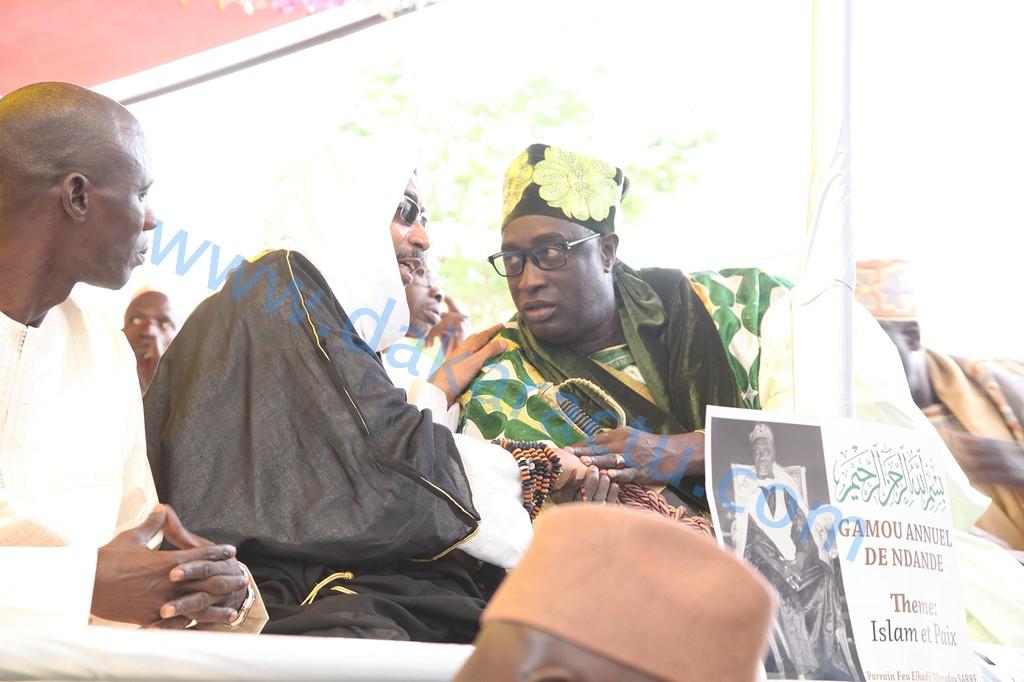 Les images de la cérémonie officielle du Gamou annuel de Ndande dont les parrains étaient El Hadj Mamadou SARRE et El Hadj Djibril Ndiogou FALL