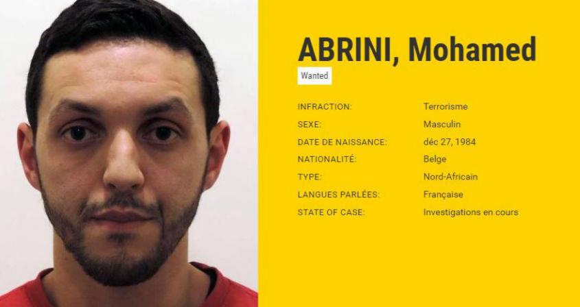 """Attentats : le """"testament"""" de Mohamed Abrini retrouvé dans une poubelle par les enquêteurs"""
