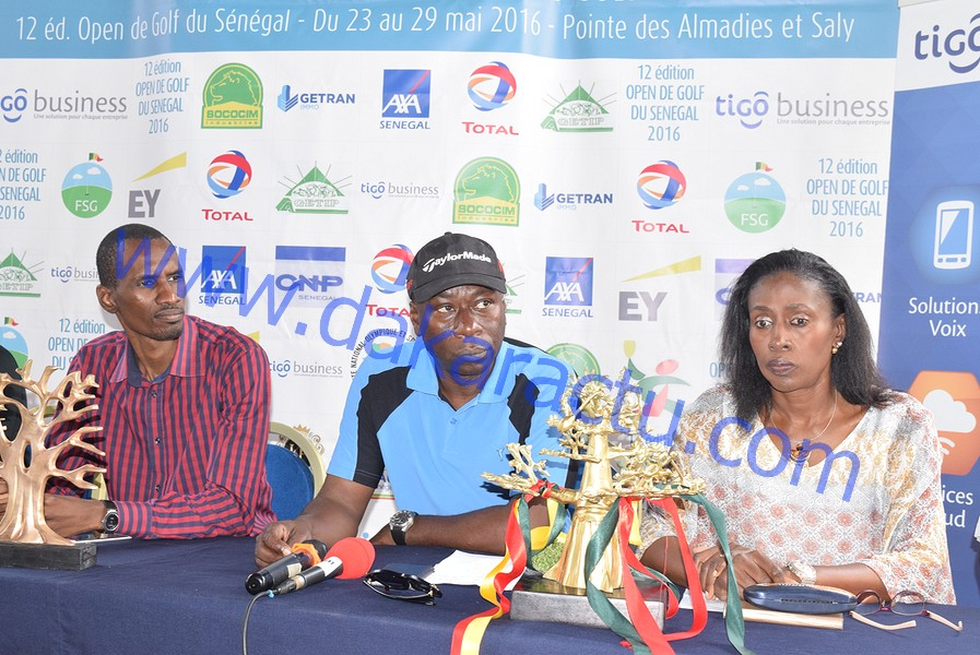12 ème édition Open du Sénégal : Le président Baïdy Agne prône la construction d'infrastructures de golf au Sénégal pour une meilleure connaissance de ce sport