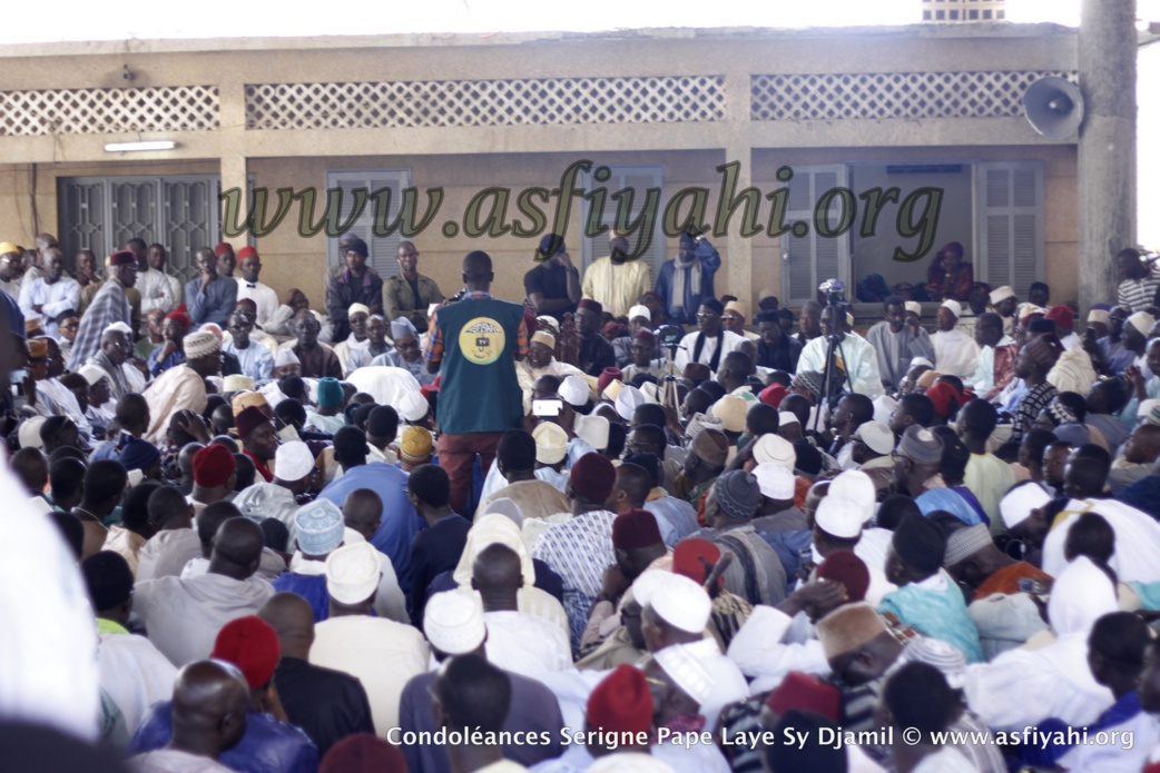 RAPPEL A DIEU DE SERIGNE PAPE LAYE SY DJAMIL : Les Images de la journée de Prières et de présentation de Condoléances à Fass