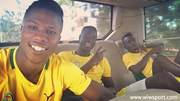 Les Lions bien arrivés à Kigali !