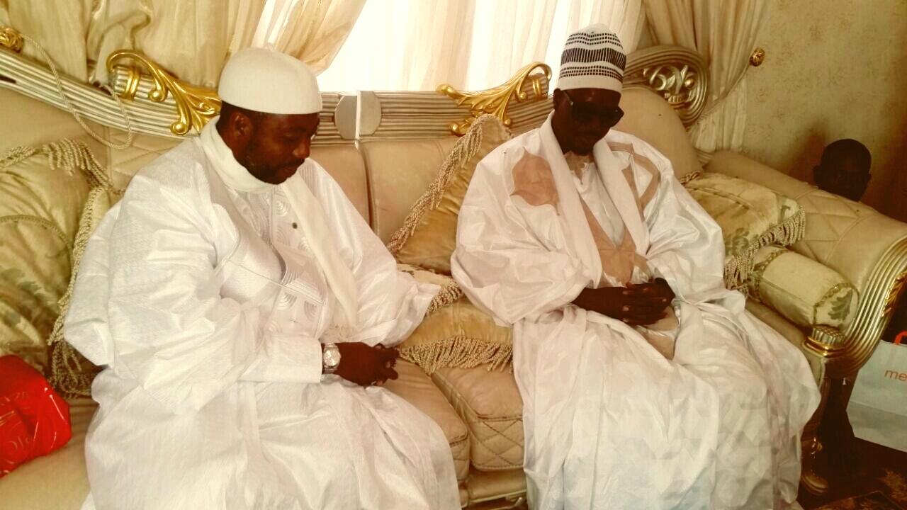 Touba : Sheikh Alassane Sène reçu par des dignitaires mourides