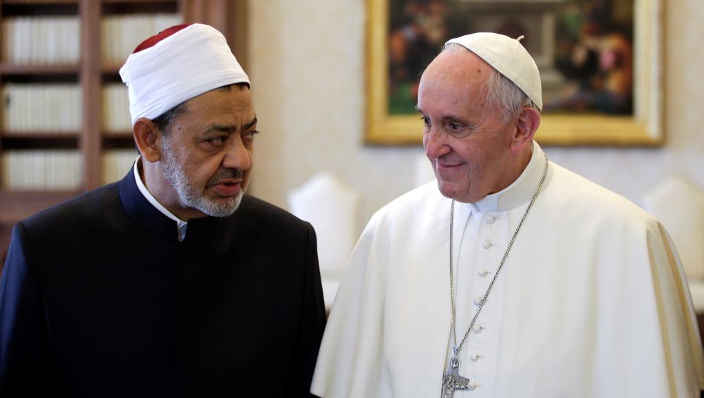 Vatican : Rencontre historique entre le Pape François et le Grand Imam d'al-Azhar