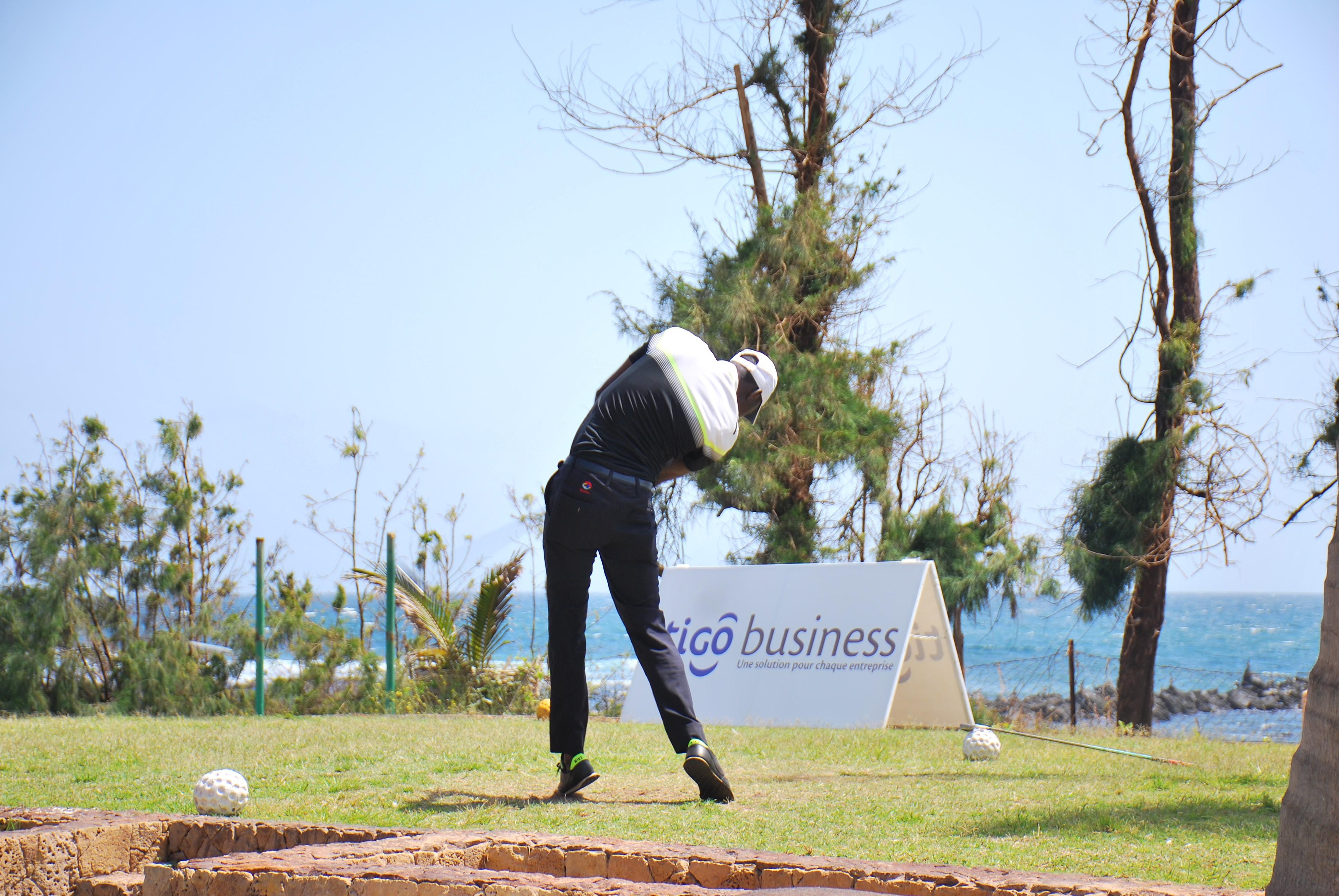 Open de golf : Tigo participe à la promotion de la discipline