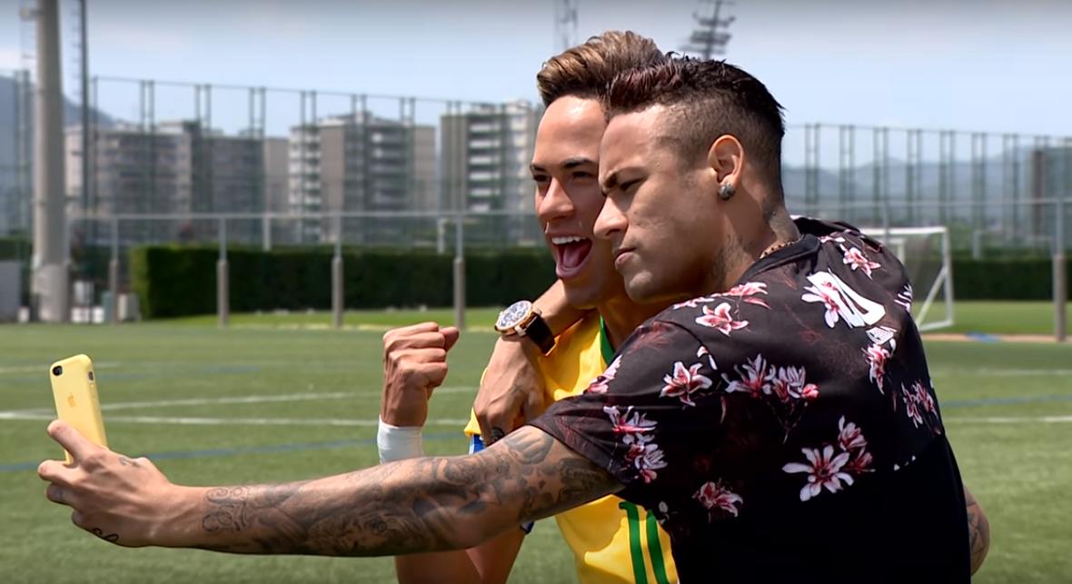 Kylian Mbappe & Neymar JR premier rencontre au Psg