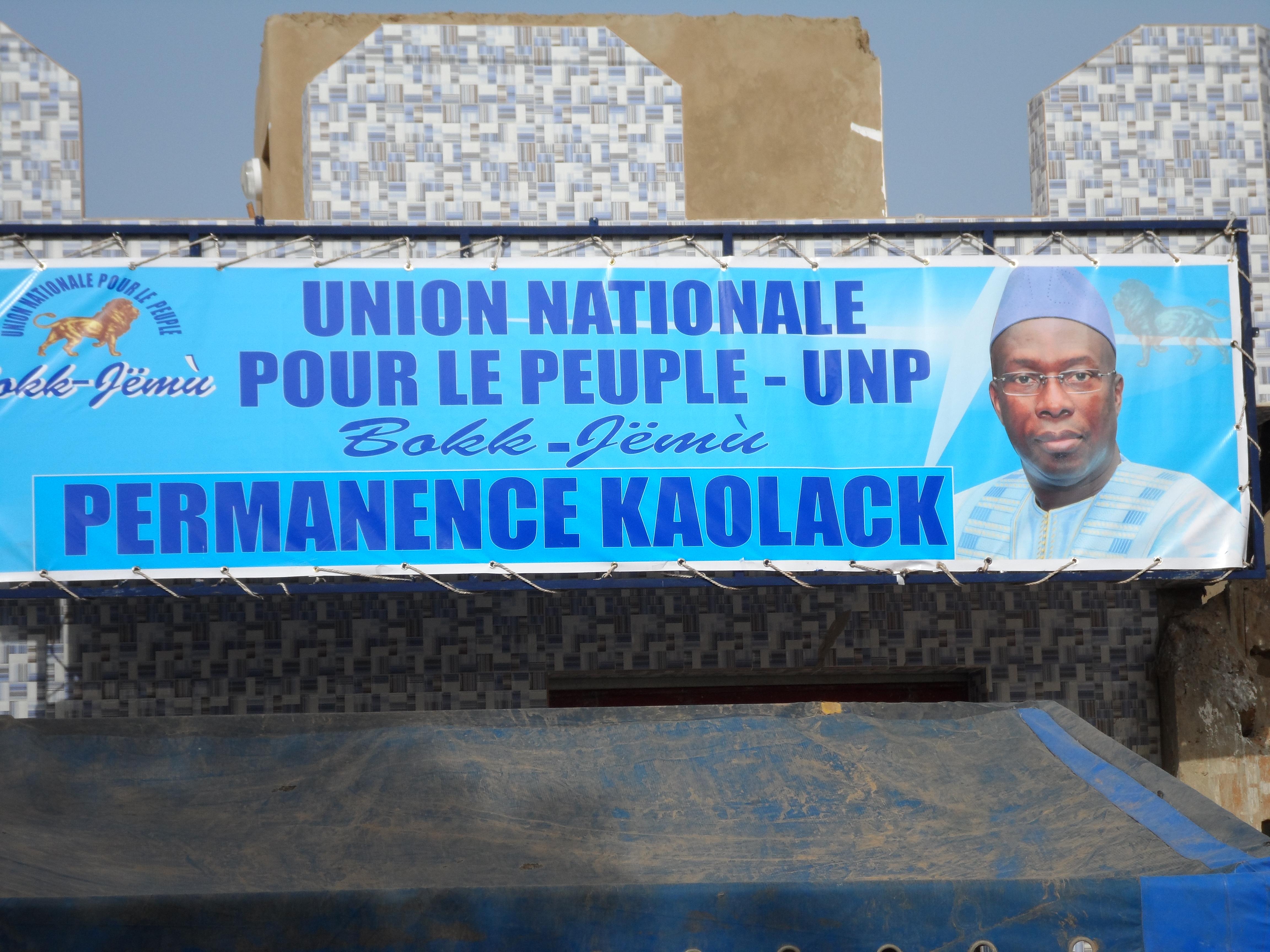 Souleymane N'déné N'diaye ouvre sa permanence de Kaolack