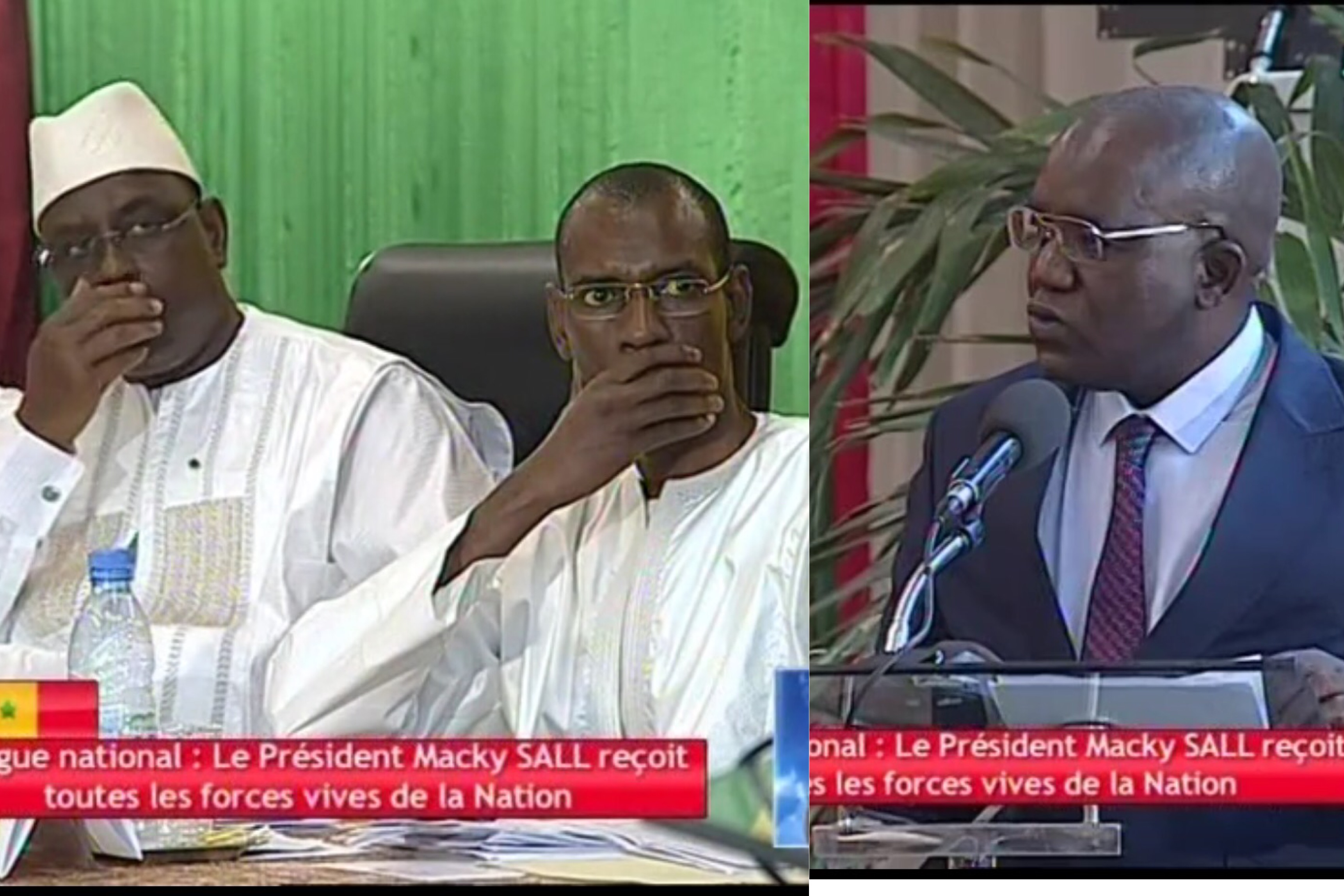 """DIALOGUE NATIONAL : Oumar Sarr """"descend"""" le ministre de l'Intérieur devant le Président Macky Sall"""