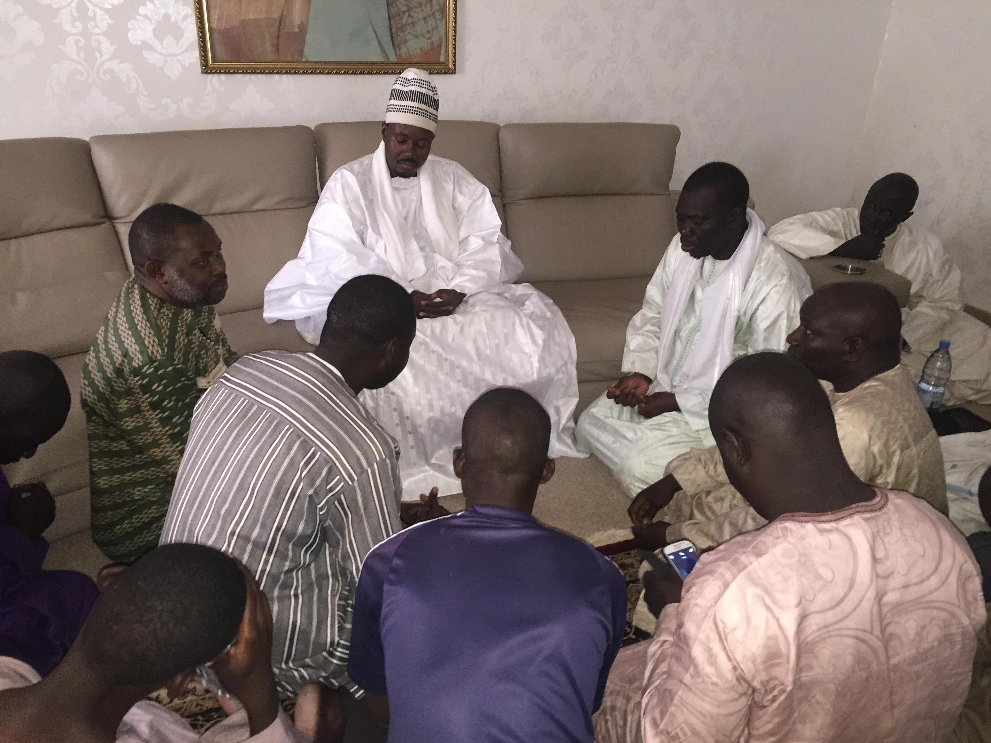 Solution à la Crise scolaire : Serigne Bassirou Abdou Khadre Mbacké reçoit l'intersyndicale des enseignants