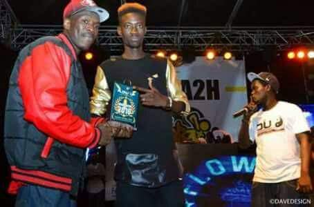 One lyrical : Vainqueur du flow up 2016, the man of the year