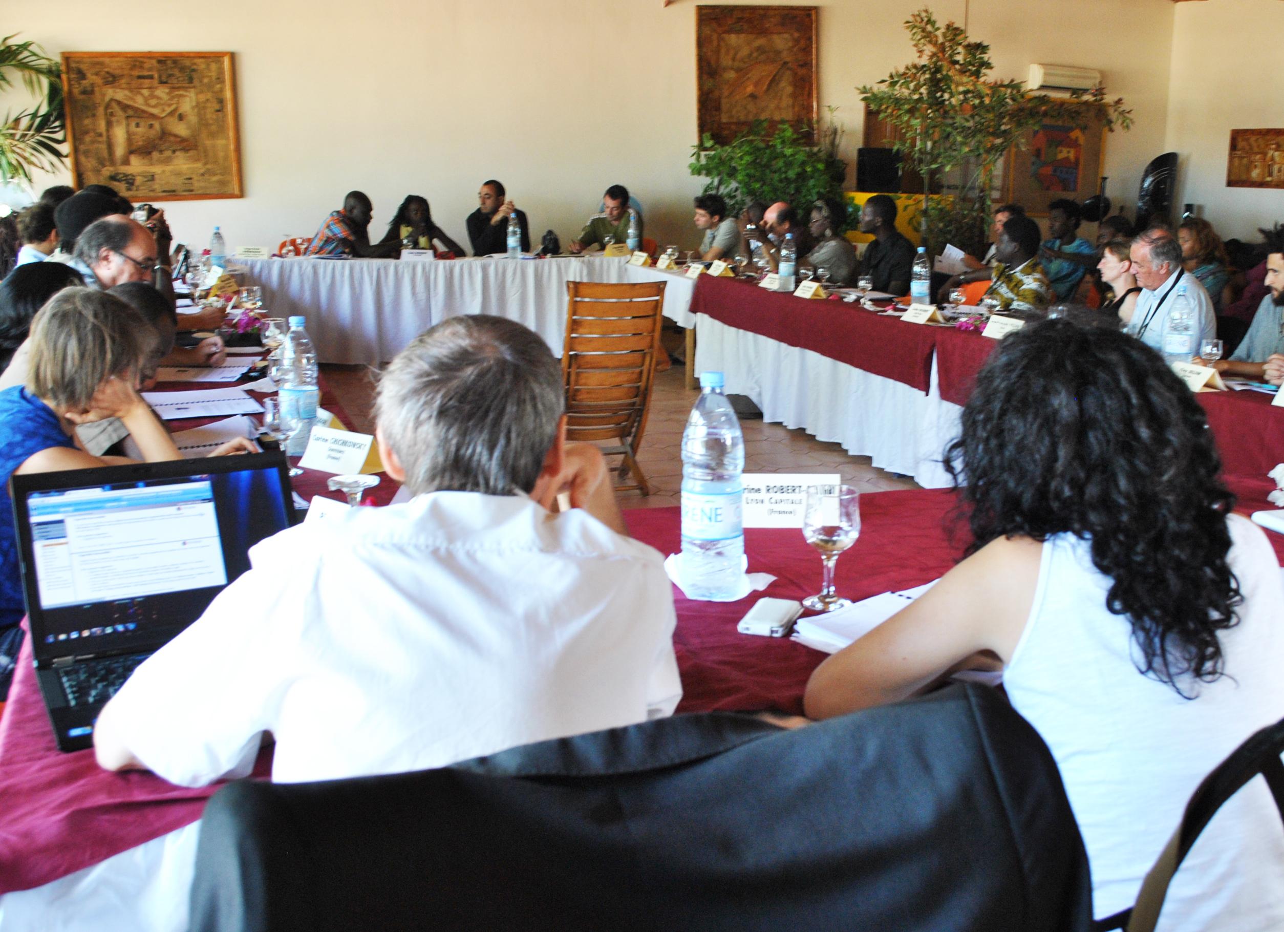 Réunion avec l'association des maires : L'ADL présente son offre de service aux élus